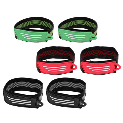 Easy 1 Pair Bicycle Safety Reflective Ankle Leg Band Trousers Pant Band Strap