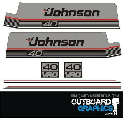 Evinrude Outboard stickers decals  message befor u buy for HP or v6 decals 2