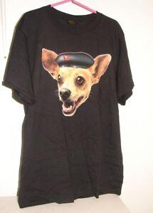 8bfac5e6 Vintage 90s Taco Bell Promo T-Shirt Militant Chihuahua Viva Gorditas ...