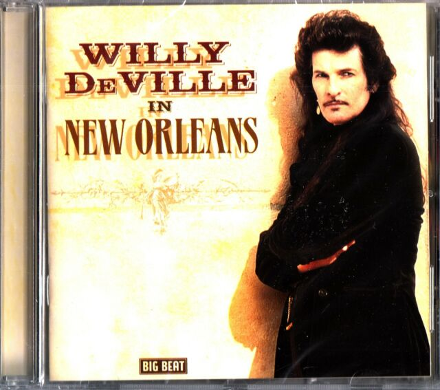 Willy DeVille ‎– In New Orleans CD (NEW SEALED) The Best of Blues Tracks & Live
