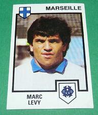 N°108 MARC LEVY OLYMPIQUE MARSEILLE OM PANINI FOOTBALL 85 1984-1985