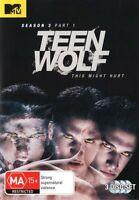 TEEN WOLF - SEASON 3 PART 1  - DVD - UK Compatible - New & sealed