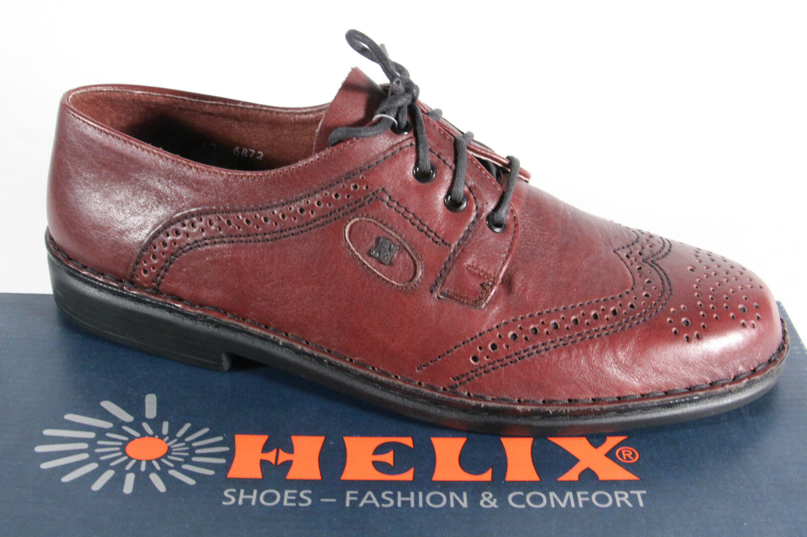 Helix Star Walker Herren Schnürschuh, Halbschuh Sneaker rotbraun,  NEU! NEU! NEU! b0c70f