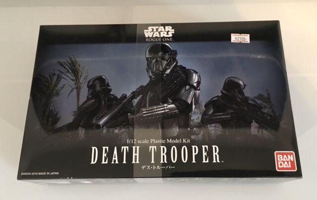 BAN205880 Bandai Star Wars Shadow Stormtrooper 1//12 Scale Model Kit