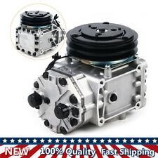 Ac Compressor With2groove Clutch For Freighliner Kenworth Peterbilt New York Type