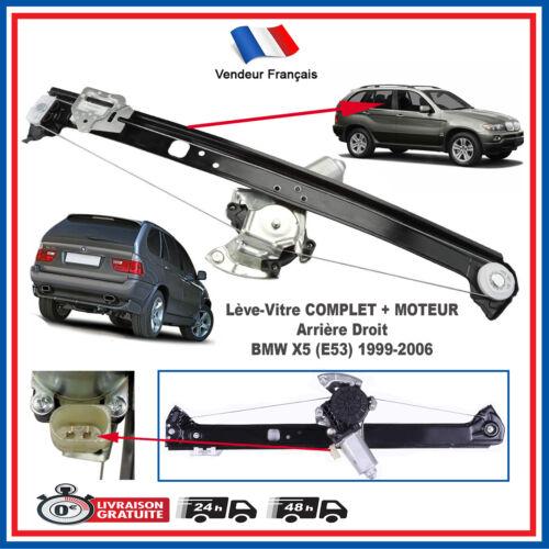 Leve Vitre electrique Arrière Droit avec Moteur pour BMW X5 E53 = 51357125060