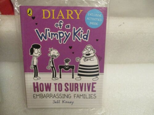 McDONALDS HAPPY MEAL DIARY OF A WIMPY KID  HOW TO SURVIVE EMBARASSING FAMILIES