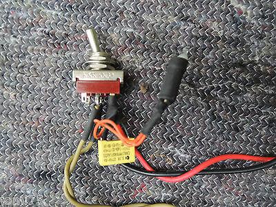 Interrupteur On Off 250v Témoin Lumineux Guitar Ampli Retro Custom Shop Sav