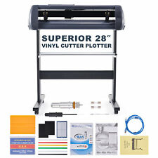 Vinyl Cutter Plotter 28 Inch Feed 31insec Sign Maker Cutting Kit W Signmaster