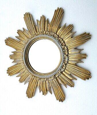 Sonnenspiegel Dekospiegel Gold Spiegel Sonne sunburst mirror Wandspiegel Antik