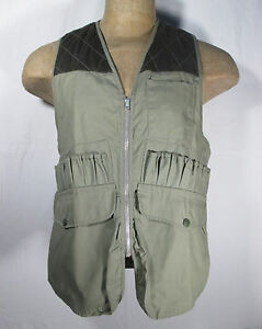 Black-Sheep-Hunting-Vest-Large-with-Cartridge-Holders-and-Game-Pouch-USA-Made-TX