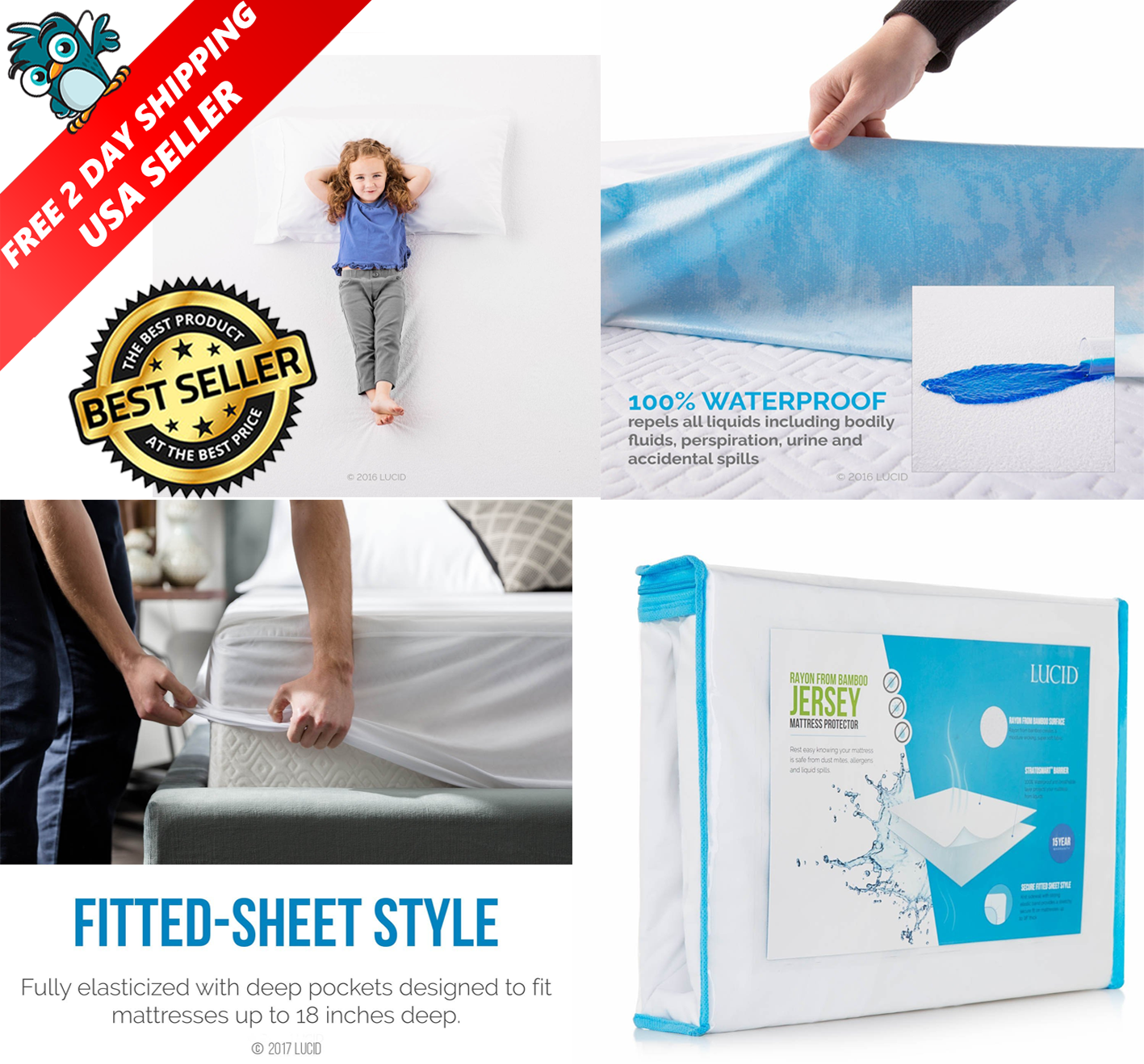 Queen Size Bed Waterproof Body Bag