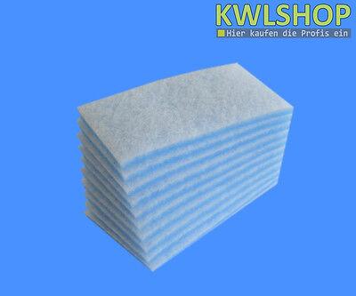 50 Stück Filter Blau Weiß G4 baugleich Stiebel Eltron LWZTecalorTHZ 304//404//504