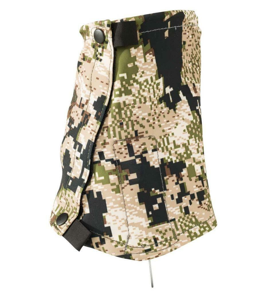 New Sitka Ascent Hunting Gaiters Subalpine Camo DWR Water Resistant One Größe