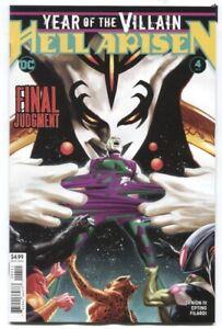 Year of the Villain Hell Arisen 1-4 Complete Variant Set Comic Lot Run Punchline