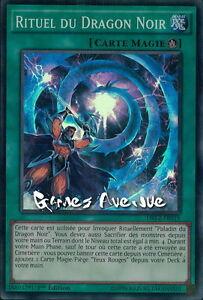 YU-GI-Oh Rituel Du Dragon Noir   DRL2-FR019  Super Rare 1st