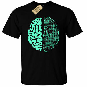 Electric-Brain-T-Shirt-Mens-computer-nerd-science-circuit-board