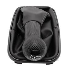 5 Speed Car Gear Shift Knob Gaiter Boot Cover For Vw Golf Gti R32 Jetta Bora Mk4