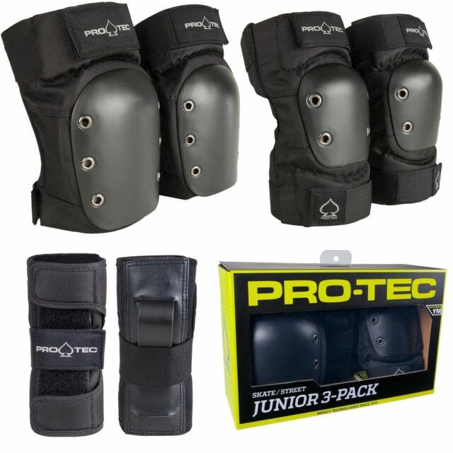 PROTEC KNEE GASKET JR-BLACK