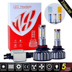 4-Sides-9006-HB4-LED-Headlight-Kit-Bulbs-Conversion-Light-60W-7600LM-6000K-DIY