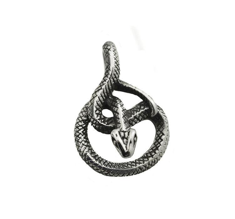 Pendentif Serpent Naja King Cobra en silver 925 Peterandclo  K42B 6910