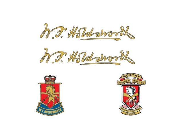 Holdsworth Bicycle Decals-Transfers-Stickers #1