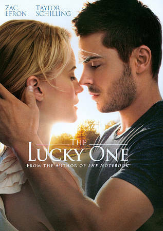 The Lucky One (DVD, 2012) DVD Disc Only V2