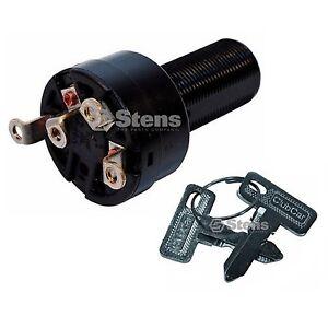 golf cart starter ignition key switch fits ds gas 1996 up. Black Bedroom Furniture Sets. Home Design Ideas