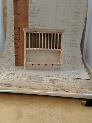 1:12 Dollhouse Miniature White Wall Shelf Rack Model Toys Furniture Accessor/_ns