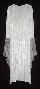 7df2525946c Sexy White Velvet Lace-up Dress Angel Fairy Like Costume PLUS SIZE ...