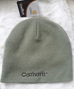 f9f79ded09503a Carhartt Acrylic Thick Knit Durable Warm Winter Snow Hat Hats Beanie ...