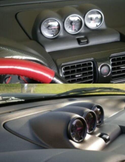Fits 2000-2005 Toyota MR2 Spyder Triple Dash Gaugepod Pod Mount Holder Trim