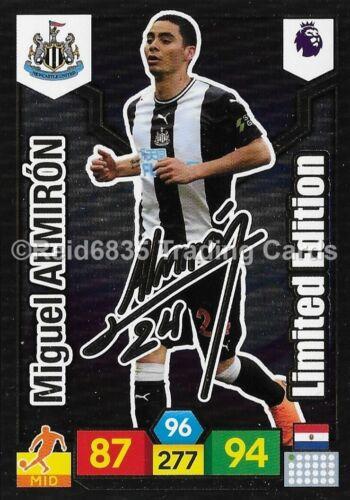 """Miguel Almirón /""""edición limitada firmada/"""" ADRENALYN XL liga premier 2019-20"""