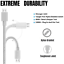 miniature 3 - 10Ft Android Micro USB Fast Charger Cable Data Sync Charging Cord For Samsung LG