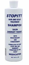 Stopitt Hair and Scalp Treatment Shampoo 16 Ounce