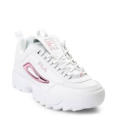 chaussures fila rose vernis