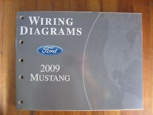 2009 Ford Mustang Electrical Wiring Diagram Service Shop ...
