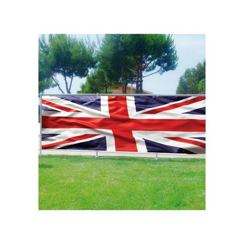 Brise vue déco imprimé pour jardin, balcon ou terrasse Drapeau Anglais 3689