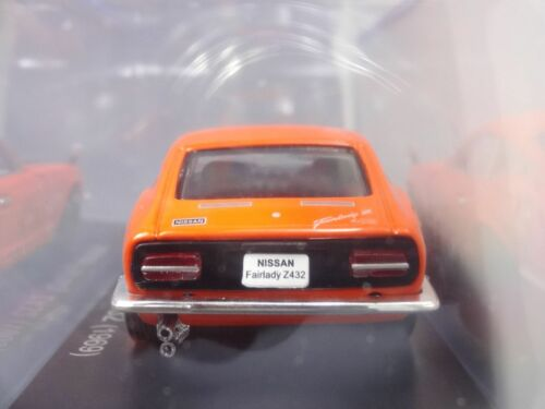 Norev Nissan Fairlady Z432 1969 1//43 Scale Box Mini Car Display Diecast Vol 8