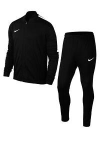 Nike-Da-Uomo-Academy-16-Dry-Lavorato-a-Maglia-Tuta-Completa-SMALL-NERO-BIANCO-808757-010