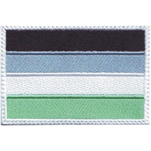 Aroace LGBTQ PRIDE drapeau brodé Patch