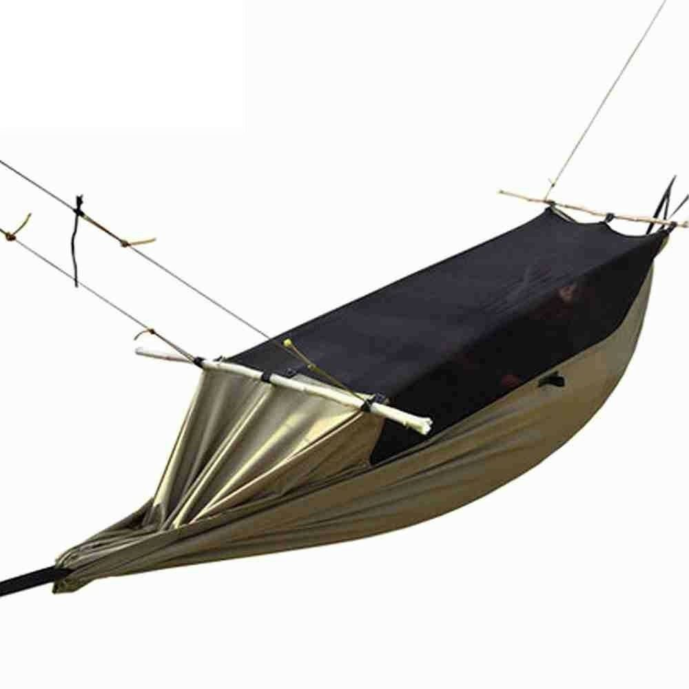 Anti-Moustique Imperméable Hanging Bed Outdoor Portable Tente Camping Hamac