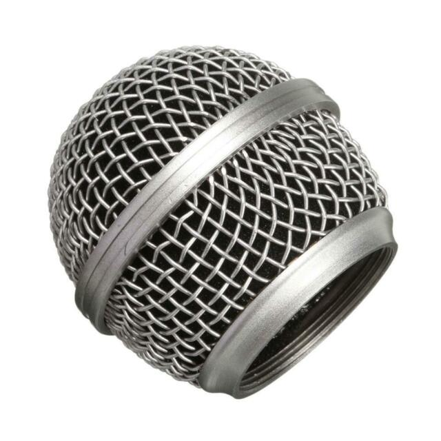 Replacement Ball Head Mesh Microphone Grille for Shure SM58 Beta58 Beta58a ,p