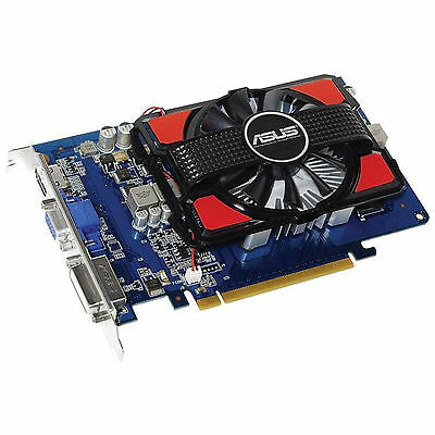 SCHEDA VIDEO VGA ASUS NVIDIA GEFORCE GT730 4GB GDDR3 PCI-E EXPRESS VGA HDMI DVI
