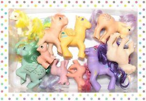 ❤️My Little Pony MLP G1 Vtg Custom Bait TLC Mixed Lot 10 Ponies Sweet Talkin'❤️