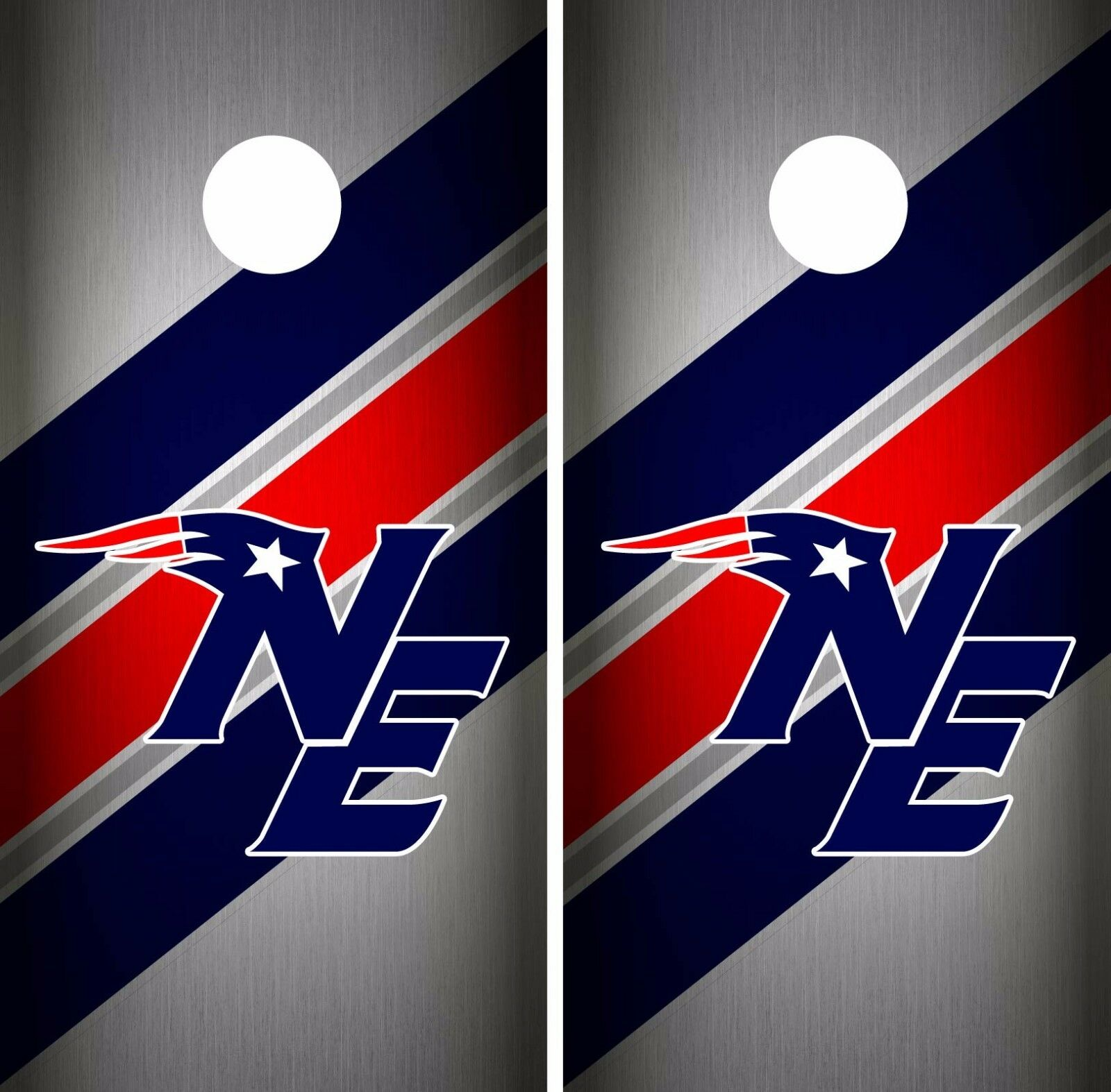 New England  Patriots Cornhole Skin Wrap NFL Football Team colors Vinyl DR54  welcome to order