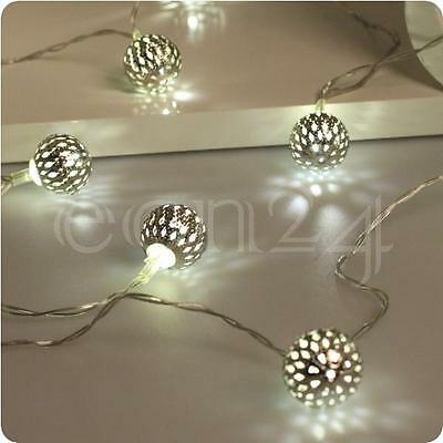 LED Lichterkette mit 10 Leuchten batteriebetrieben