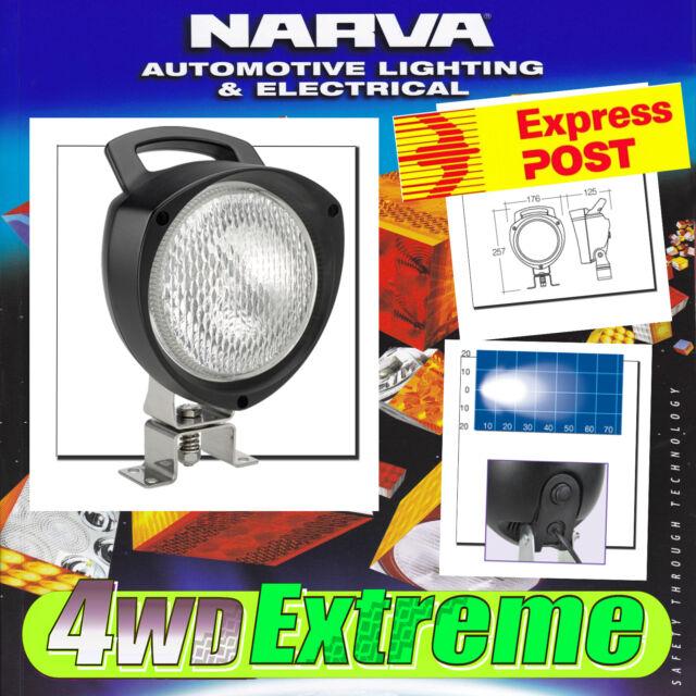 NARVA SENATOR WORK LIGHT LAMP FLOOD BEAM HANDLE SPREAD 12V 12 VOLT H3 72439