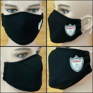2x Unisex Water proof Face Dust Cloth Dustproof Facial Cover Breathable Anti-fog