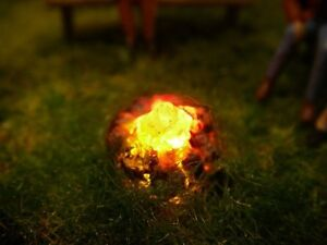 S548-Campfire-N-Gauge-TT-with-LEDs-illuminated-beautiful-Detail-for-Their-Plant